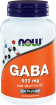 GABA Now Foods - 100 vegicaps - 500 mg