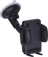 HR Richter Smartphone Autohouder Zuignap Zwanenhals Kort Universeel 42 - 78mm
