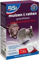 Muizengif / Rattengif graanlokaas Generation Grain'tech 150 gr