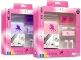 Bigben Fee Accessoirepakket Roze of Paars 3DS + Dsi