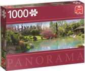 Kleurrijke tuin Premium Quality - Puzzel 1000 stukjes