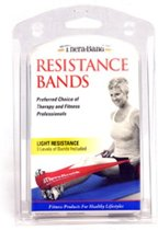 Thera-Band Light 1,5 m (set van drie)