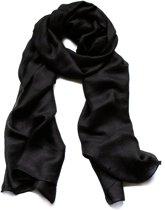 Luchtige Dames Sjaal – Zwarte Shawl