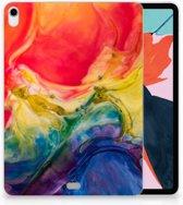 Apple iPad Pro 11 inch (2018) Uniek Tablethoesje Watercolor Dark