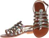 L'Atelier Tropezien - sandalen - maat 41 - dames - metallic - zilver