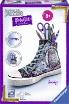 Ravensburger Sneaker animal print- Girly Girl 3D puzzel - 108 stukjes