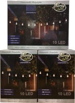 Partylights Set - Koppelbaar - Buiten - 30 LED - Warm wit - 15m