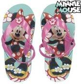 Disney Minnie Mouse teenslippers met hielbandje - maat 26/27