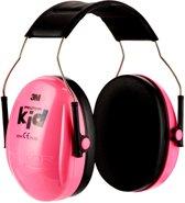 3M™ Peltor™ Kid Gehoorkap H510AK, roze (87-98 dB)