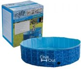 All For Paws Splash And Fun Hondenzwembad - 120x120x30 cm - Blauw - M