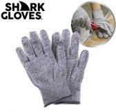 Shark Gloves Snijbestendige werkhandschoenen Keukenhandschoenen - bescherming tegen messen en snijden - Anti-snijhandschoenen - Bescherm je handen - Snijwerende Handschoenen