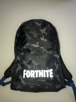Fortnite rugzak - zwart - camouflage - 40 cm