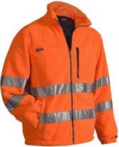 Blåkläder Fleecejas High Vis Mt Xl Oranje Xl