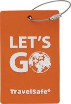 Travelsafe Adres label - Orange