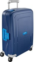 Samsonite Reiskoffer - S'Cure Spinner 55/20 (Handbagage) Dark Blue/Pacific Blue