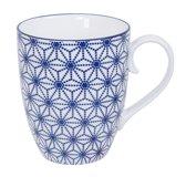 Tokyo Design Studio Nippon Blue Mug 8.5x10.2cm 380ml Star