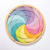 Grimms Building Set Colorwheel Pastel
