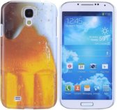 Samsung Galaxy S4 - hoes cover case - PC -  Beer / Bier