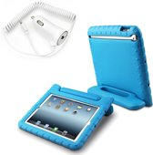 Tablethoes Kids-proof + Blue star autolader - iPad AIR 2 - BLAUW