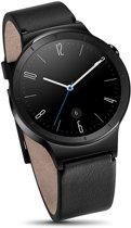 Huawei Watch Active W1 Smartwatch met Lederen Band - Zwart