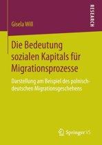 Die Bedeutung Sozialen Kapitals F r Migrationsprozesse