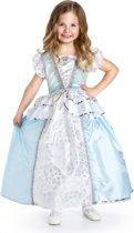 Assepoester jurk - maat (XL) 128/140 - 7/9 jaar