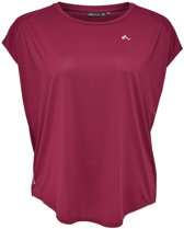 Only Play Aubree T-Shirt - Shirts  - rood donker - 48
