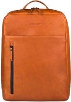 BURKELY Rain Riley Backpack 15.6'' Rugzak - Corroded Cognac