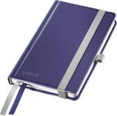 Leitz Notitieboek - Harde kaft - A6 geruit - Titaniumblauw