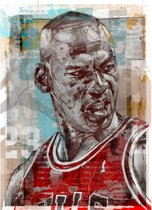 Michael Jordan canvas