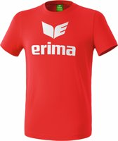 Erima Basics Promo T-Shirt - Shirts  - rood - 2XL