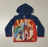 Marvel Avengers vest blauw maat 4 (104cm)