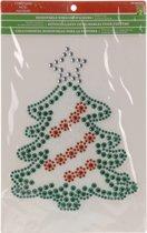 Raamsticker kerstboom 33 cm