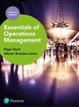 Essentials of Operations Management with MyLab Operations Management