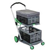CLAX trolley + 2 klapkratten + ClaxCAP