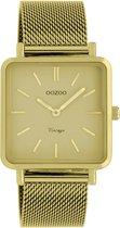 OOZOO Vintage Geel horloge  (29 mm) - Geel
