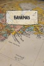Bahamas: Ruled Travel Diary Notebook or Journey Journal - Lined Trip Pocketbook for Men and Women with Lines