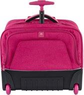 Delsey - Horizontal Trolley Pink - Boekentas