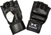 Hammer MMA Gloves Bokshandschoenen - Unisex - zwart - wedstrijden - Maat S-M - Leer