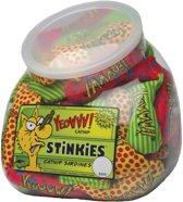 Yeowww Stinkies Catnip Sardientjes In Viskom - 7.5 CM X 51 ST (51 stuks)