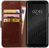 Rosso Element Samsung Galaxy S9 Plus Hoesje Book Cover Bruin