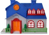 Jonotoys Speelhuis Dream House Meisjes 16.5 Cm Donkerblauw