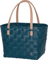 Handed By Color Block - Shopper - Donker blauw