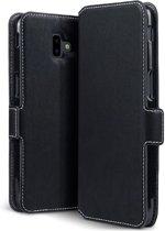 Samsung Galaxy J6 Plus (2018) hoesje - CaseBoutique - Zwart - Kunstleer