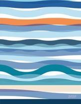 Seaside Currents 2020 Desk Planner Plato Foil