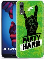 Huawei P20 Hoesje Party Hard 3.0