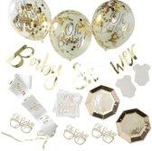 Babyshower decoratiepakket - 55-delig