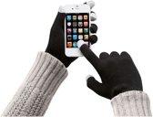 Touchscreen handschoenen voor smartphones en mobiele telefoons - Deze touch gloves zijn geschikt voor iPhone en Android - Zwart