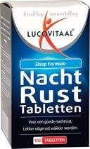 Lucovitaal - Nachtrust Tabletten - 100 tabletten - Voedingssupplementen