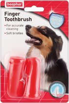 Beaphar Vingertandenborstel Kat en Hond - 2 St